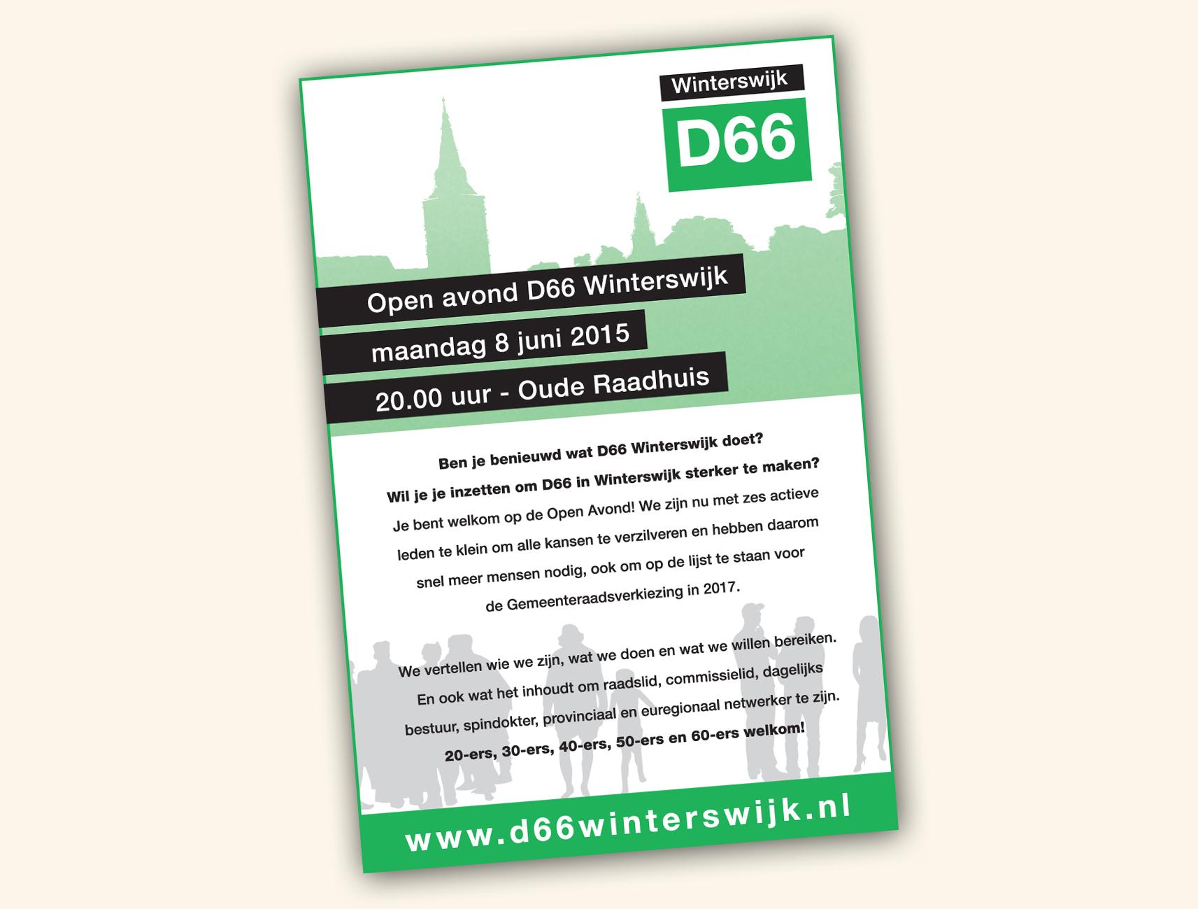 D66-Winterswijk advertentie