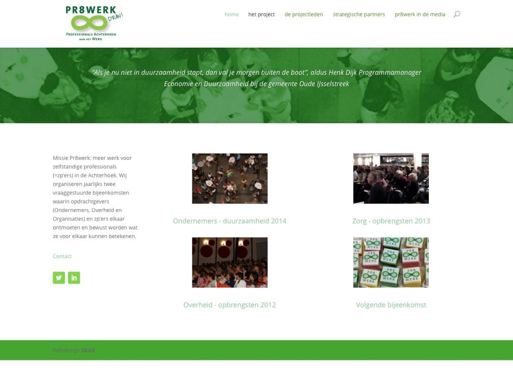 Pr8werk website