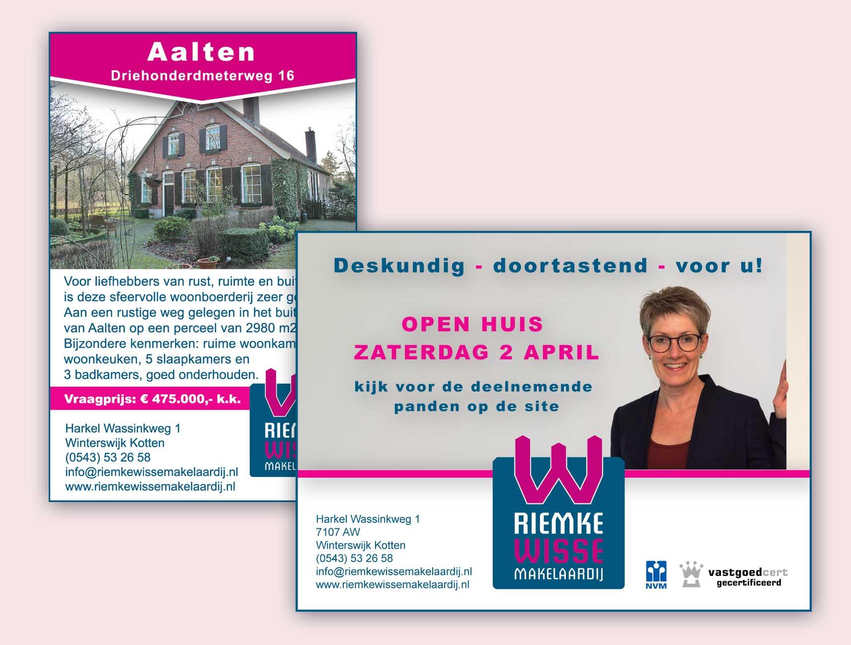 Riemke Wisse advertenties