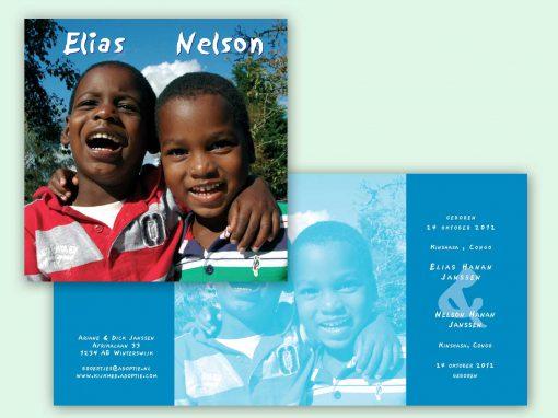 Adoptie sibling fotokaart
