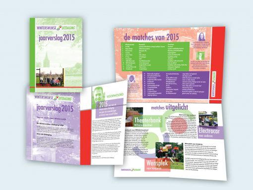 Winterswijkse Uitdaging jaarverslag ontwerp en opmaak