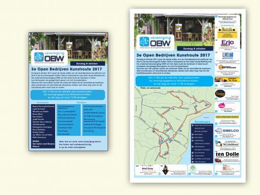 OBW- Open bedrijven kunstroute – advertenties