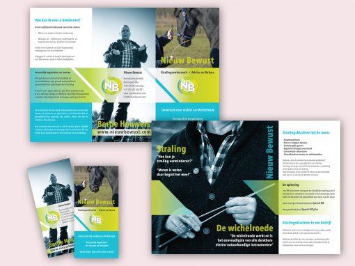 Nieuw Bewust folder ontwerp en opmaak