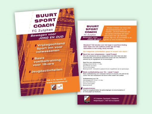 FC Zutphen flyer