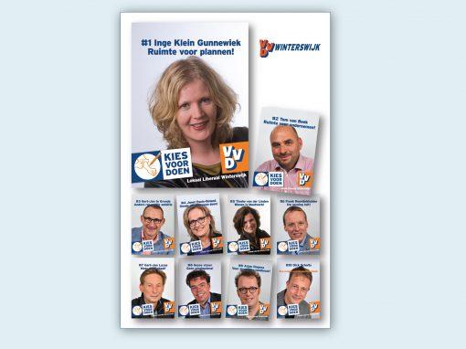 VVD Winterswijk ABRI-poster