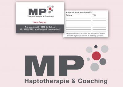 MPhc logo- en visitekaart ontwerp