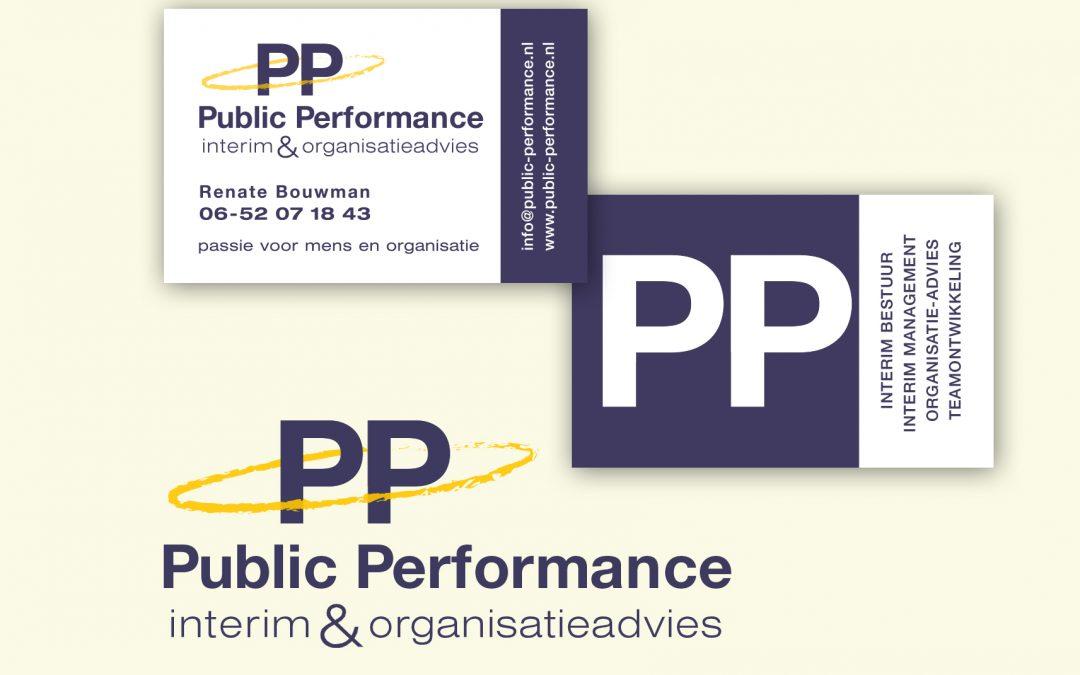 PP logo- en visitekaart ontwerp