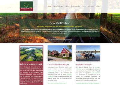 Website voor Den Möllenhof