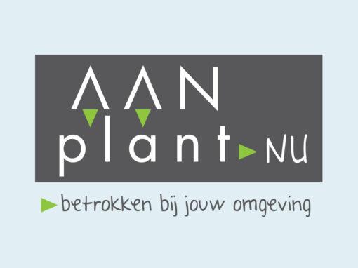 Aanplant.nu logo ontwerp