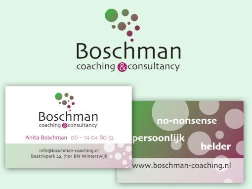 Boschman coaching&consultancy logo en huisstijl ontwerp