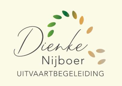 Dienke Nijboer logo ontwerp