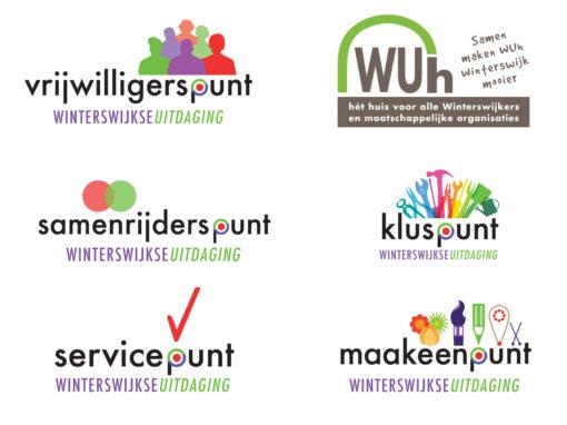 Diverse logo's voor de Winterswijkse Uitdaging
